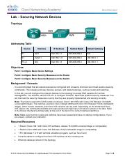 11.2.4.8 Lab - Securing Network DevicescompleteturninFriday.pdf