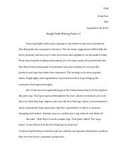 Writing project 2
