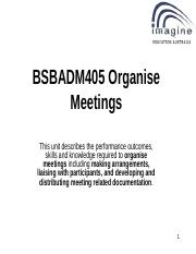 BSBADM405 POWERPOINT V6