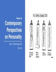 Module 39 Contemporary Perspectives on Personality for students.pptx