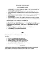 krispy kreme doughnuts case study solution