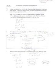Business Calculus 7