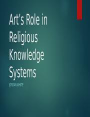Art's Role in Religious Knowledge Systems