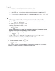 Chapter 10 Problem Solutions