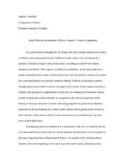comparative politics week interest aggregation what is 5 pages comparative politics short essay 2