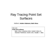RayTracing%20Point%20Set%20Surfaces