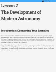 AST101 - Lesson 2