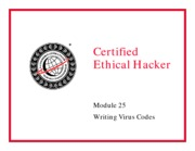 CEH v5 Module 25 Writing Virus Codes