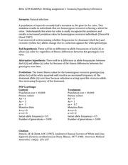 Scientific Writing in BIOL 1090