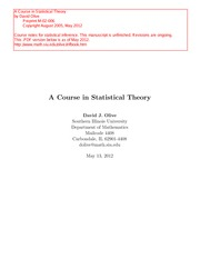 Statistical_Theory.Olive.2012