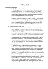 New Deal Full Chapter Outline