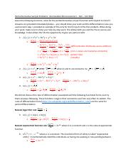 Partial Derivative Sample Problems