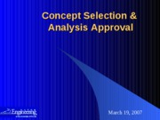 PPDS_Concept Selection Report_Example