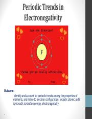 5.  Electronegativity Trends
