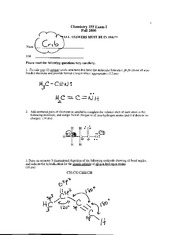 Chem 255 Exam1 Answers