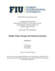 PaddleMakerDesign-FinalReport-Spring2010