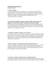 discussions questions ch. 1
