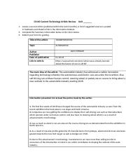CS140 Current Article Review Form.edited (1).docx
