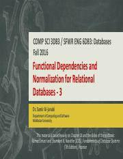 15 - Functional Dependencies and Normalization for Relational Databases - 3