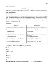 Software Engineering Assignment 4