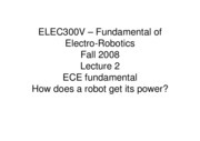 2 - How Does a Robot Get Its Power