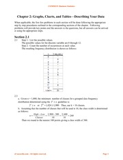 Comm 215 Solutions in book Chapter 2