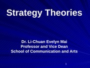Strategy_Theories