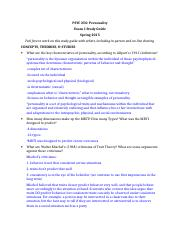 PSYCH 250 EXAM 1 COMBINED STUDY GUIDE