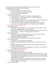 POLS2221 Lecture Notes 9-14-2011