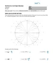 10..Section 6.1-6.4 Quiz Review SOLUTIONS.pdf