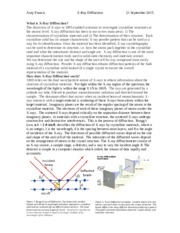 X-ray diffraction report.docx