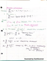 Math 151B Power Series Notes