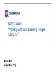 BTEC 44_45 WWLP lecture 7 Leadership styles slides.pptx
