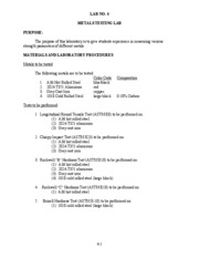 CGN 3501 Lab 4 (Instructions & Data Sheets)