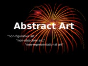 Abstract Art PPT