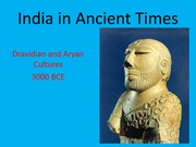 India in Ancient Times