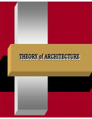 Arch Theory Ppt Theory Of Of Architecture Architecture Theory Essence Of Architecture Architecture Arts Greek Words Archi First Or Original Tect Course Hero