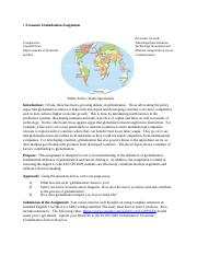 Globalization Project.docx