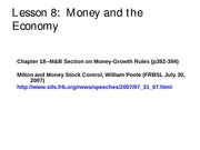 Lesson+8--Money+and+the+Economy