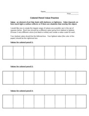 worksheets value scale worksheet opossumsoft worksheets and printables. Black Bedroom Furniture Sets. Home Design Ideas
