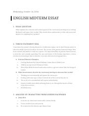 English 146 Midterm Outline.docx