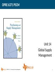 Unit 14 Global Supply Management.pptx