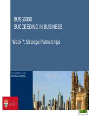 BUSS6000 Week 7 lecture Strategic Partnerships edit.pptx