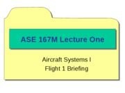 ASE 167M - Lectures Compiled
