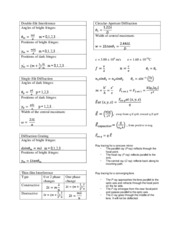 Equation Sheet_Test 1