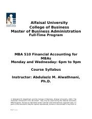 MBA 510 Financial Accounting Syllabus 1.2.docx