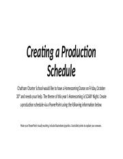 Copy of 2.01 Production Schedule