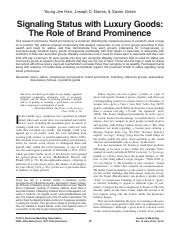 Han Nunes Drèze - Signaling Status with Luxury Goods The Role of Brand Prominence.pdf