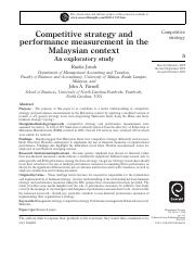 Competitve strategy and measurement of performance.pdf