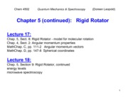 Ch. 5 - Rigid Rotator - Copy
